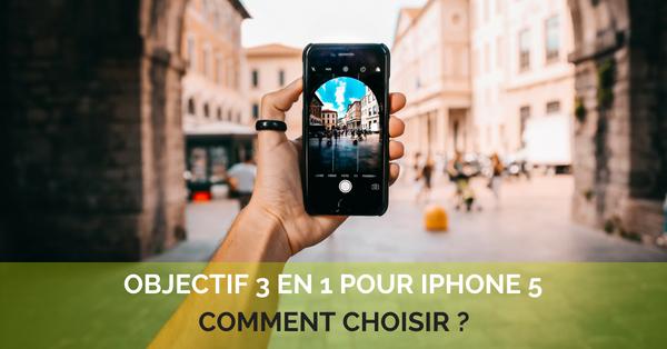 Objectifs 3 en 1 Iphone 5
