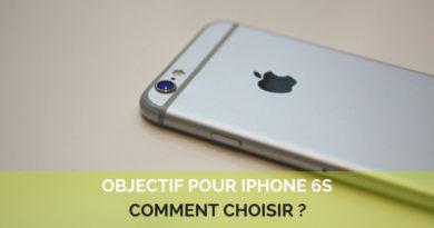 Objectifs pour Iphone 6